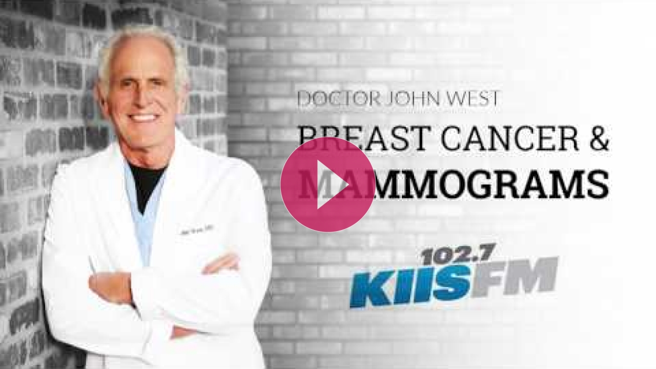 Embedded thumbnail for John West Discussing Breast Cancer & Mammograms on KIIS Radio