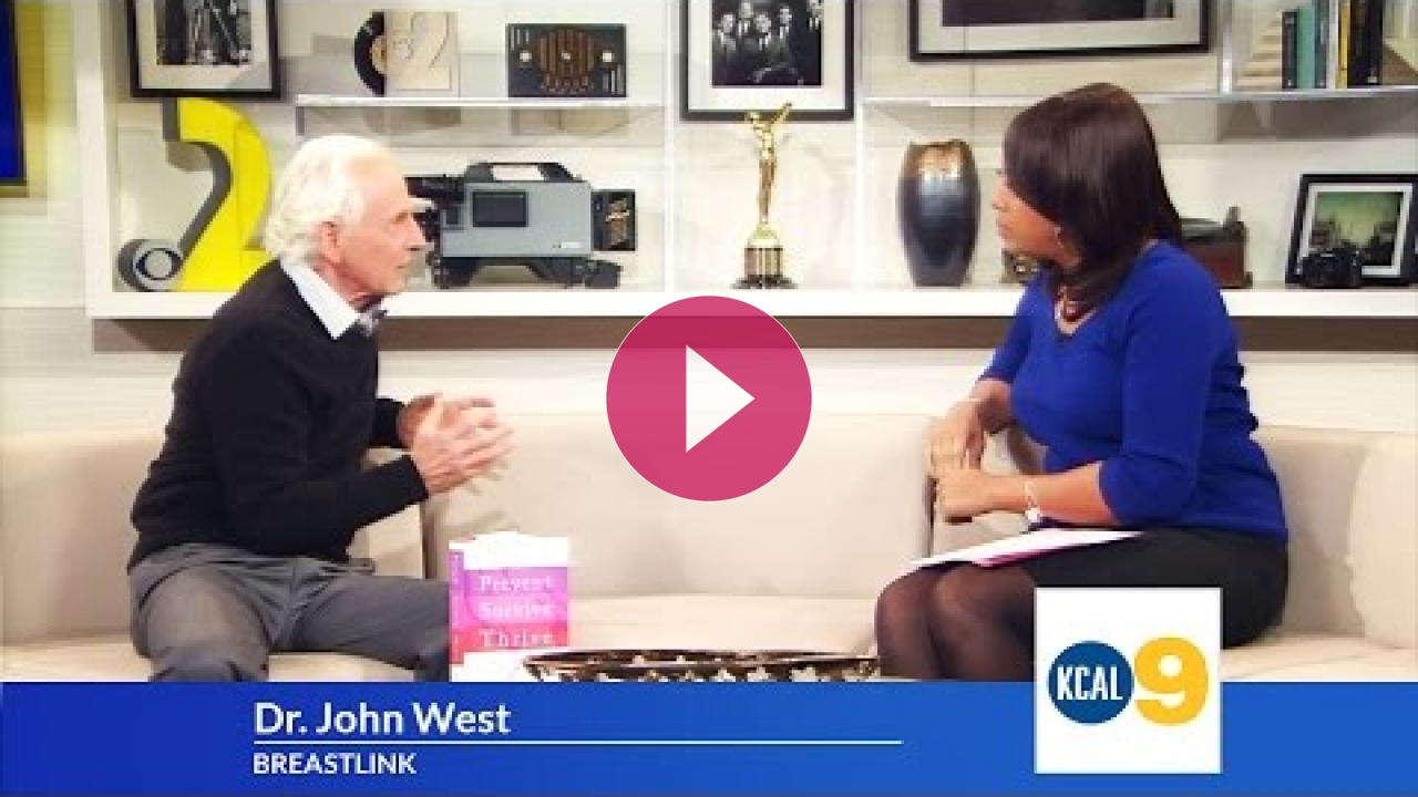 Embedded thumbnail for Dr. John West Discusses Early Detection Of Breast Cancer on KCAL9